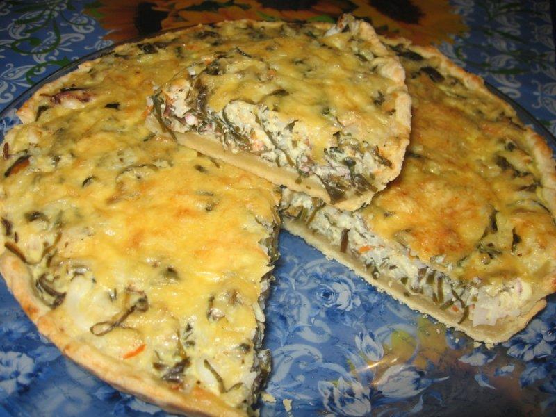 Рыбный пирог с минтаем рецепт с фото